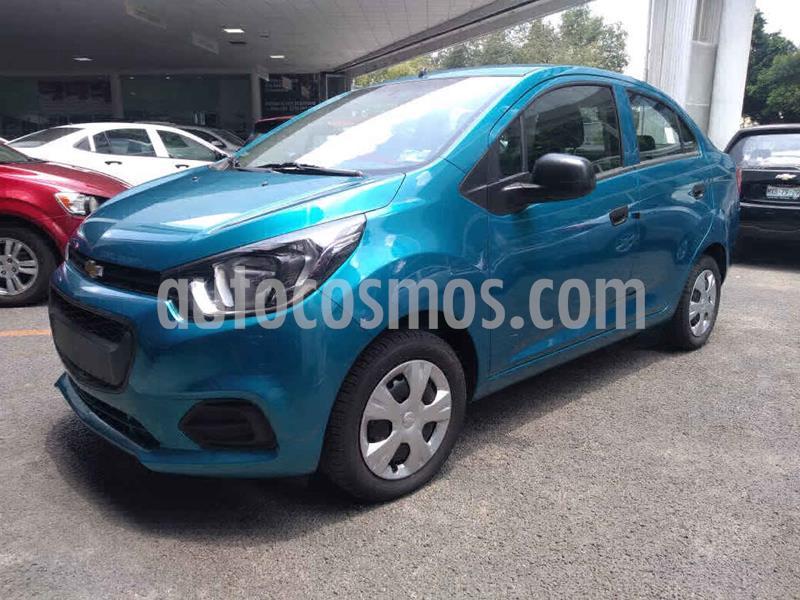 Chevrolet Beat LS Sedan usado (2019) color Azul precio $145,000