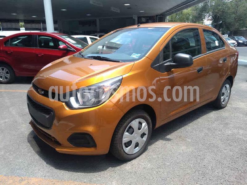 Chevrolet Beat LS Sedan usado (2019) color Naranja precio $145,000
