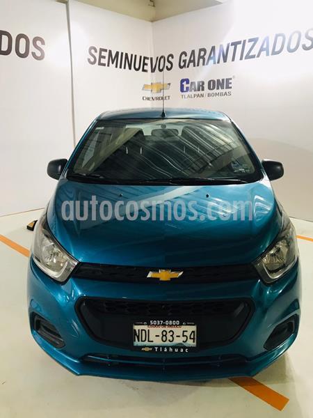 Chevrolet Beat LT usado (2018) color Azul Denim precio $160,000