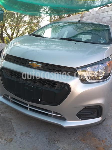 Chevrolet Beat LT usado (2018) color Plata Metalico precio $115,000