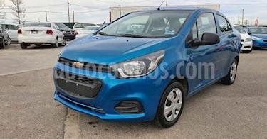 Chevrolet Beat 4p LT B TM usado (2020) color Azul precio $144,800