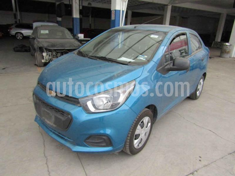 Chevrolet Beat LT usado (2019) color Azul precio $62,000