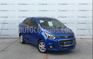 Chevrolet Beat LT Sedan usado (2019) color Azul precio $190,000
