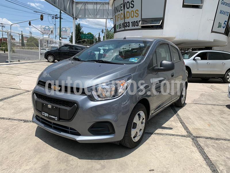 Chevrolet Beat LT usado (2020) color Gris Titanio precio $154,000