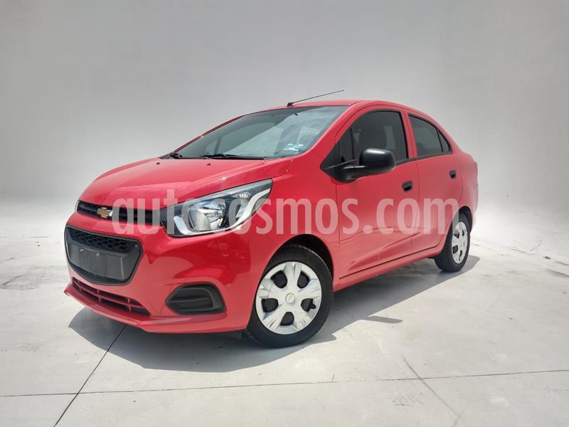 Chevrolet Beat LT Sedan usado (2018) color Rojo precio $139,700