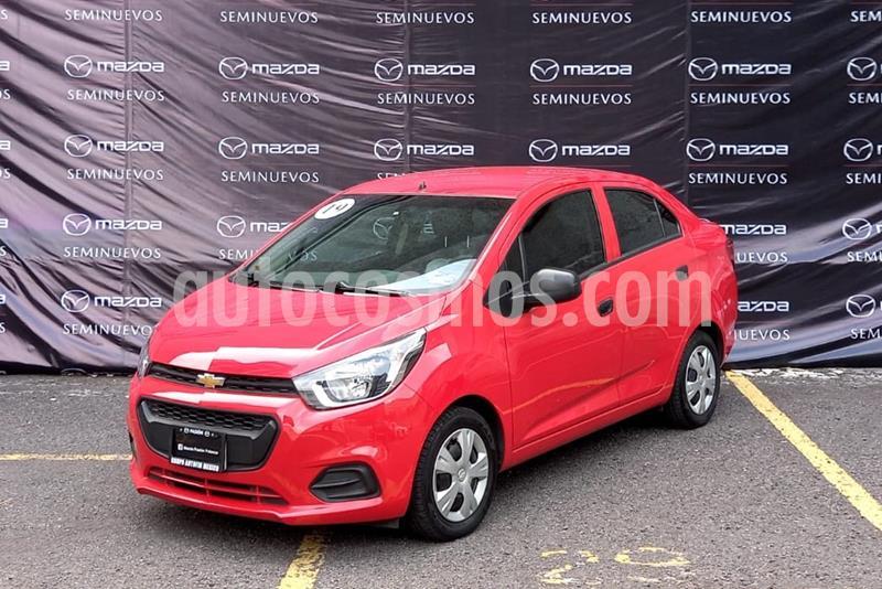 Chevrolet Beat LT Sedan usado (2019) color Rojo precio $135,000
