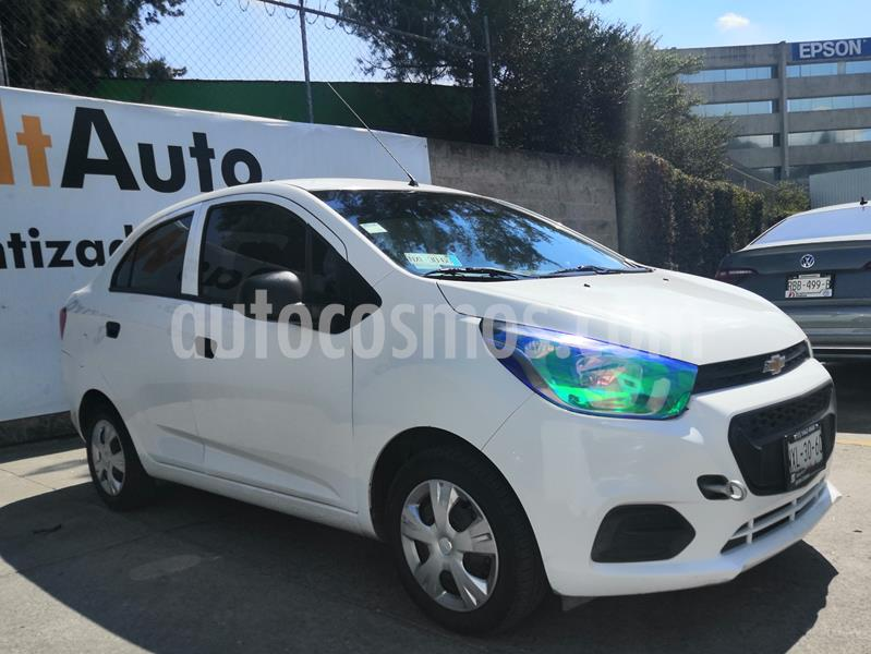 Chevrolet Beat LS Sedan usado (2020) color Blanco precio $135,000