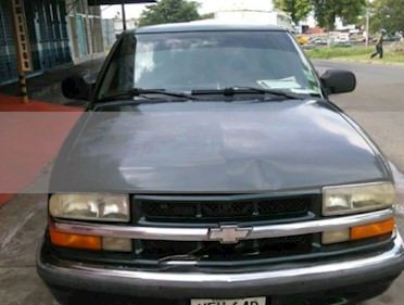Chevrolet Blazer Blazer 4x2 usado (2001) color Verde precio BoF1.400