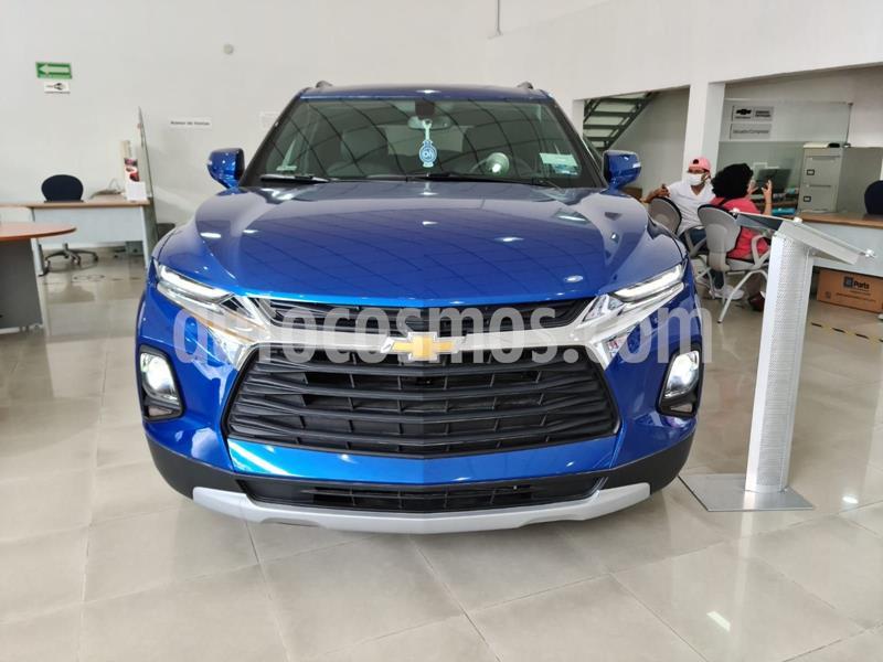 Chevrolet Blazer Piel usado (2019) color Azul Acero precio $610,000