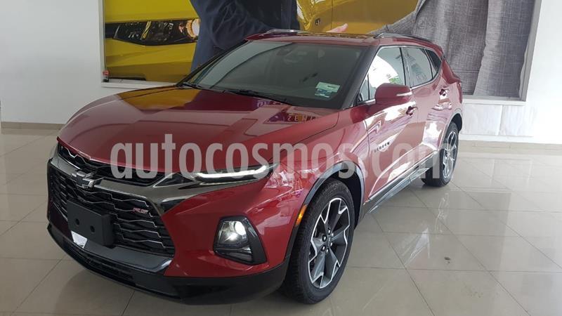 Chevrolet Blazer Piel usado (2019) color Rojo precio $680,000