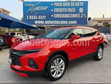 Chevrolet Blazer Piel usado (2019) color Rojo precio $599,900