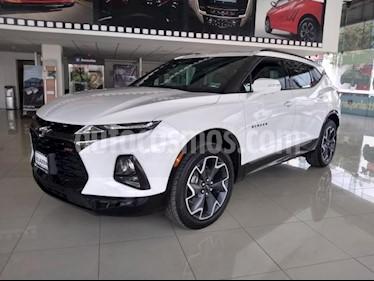 Chevrolet Blazer 5P RS V6 3.6L TA PIEL 5 PAS. GPS QCP SENSOR REVER usado (2019) color Blanco precio $719,900