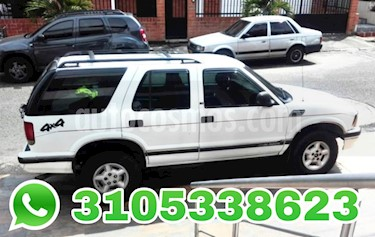Foto venta Carro usado Chevrolet Blazer S-10 Auto. 4x4 (1997) color Blanco precio $11.500.000