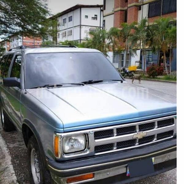 Chevrolet Blazer Auto. 4x2  usado (1993) color Azul precio u$s2.500