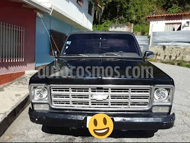 Chevrolet C 10 Big 10 Pick-Up L6 4.9 12V usado (1978) color Negro precio u$s2.100