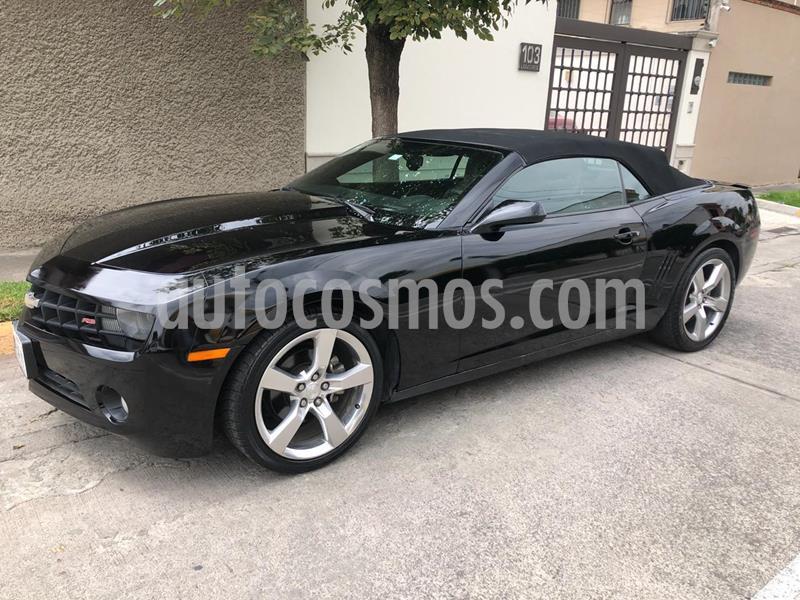 Chevrolet Camaro Convertible Paq. D usado (2011) color Negro precio $285,000