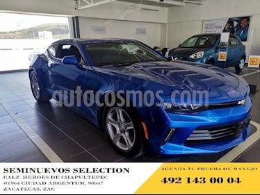 Foto venta Auto usado Chevrolet Camaro 2p Coupe LT L4/2.0/T Man (2018) color Azul precio $425,000