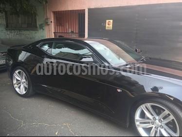 Chevrolet Camaro Coupe Aut usado (2016) color Negro precio $360,000