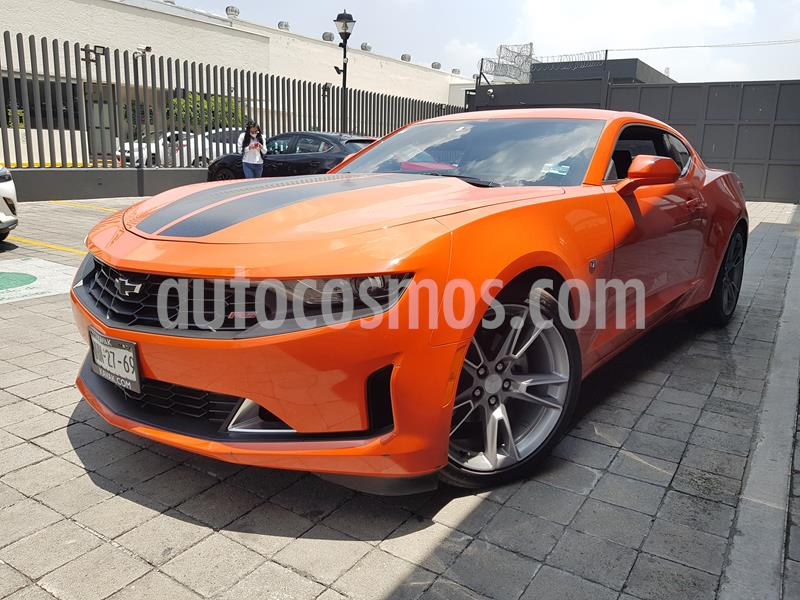 Chevrolet Camaro RS V6 Fire Edition Aut usado (2019) color Naranja precio $590,000