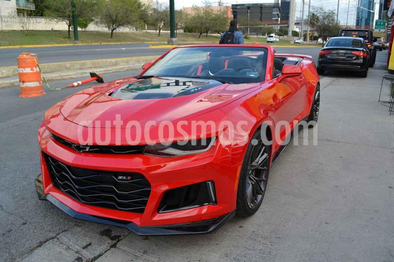 Chevrolet Camaro ZL1 Convertible Aut usado (2018) color Rojo precio $999,000