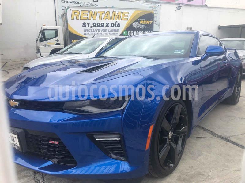 Chevrolet Camaro Convertible Aut usado (2016) color Azul precio $499,000