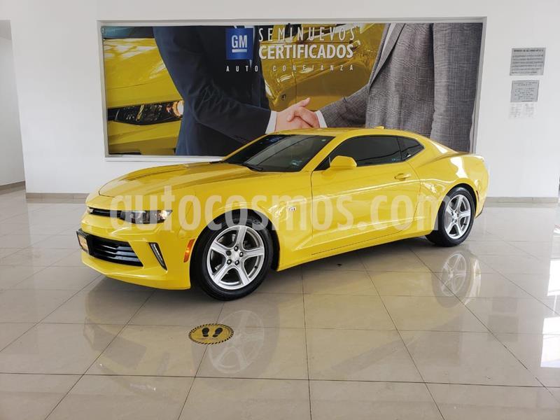 Chevrolet Camaro LT 2.0 T usado (2018) color Amarillo precio $478,900
