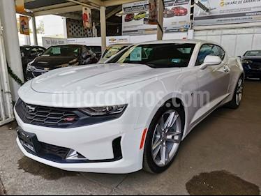Chevrolet Camaro Paq. B usado (2019) color Blanco precio $599,000