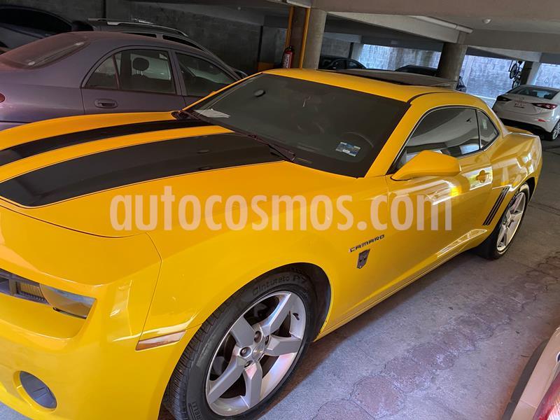 Chevrolet Camaro Coupe Aut usado (2013) color Amarillo precio $250,000