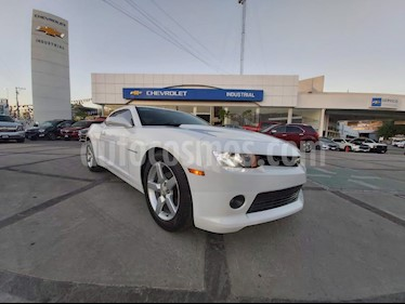 Chevrolet Camaro Coupe Aut usado (2014) color Blanco precio $285,000