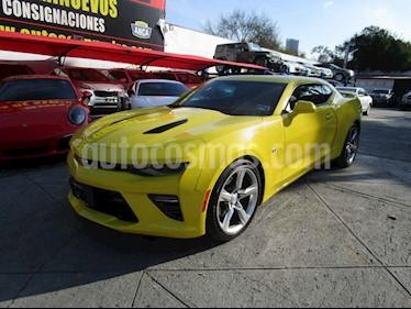 Chevrolet Camaro SS Aut usado (2017) color Amarillo precio $539,000