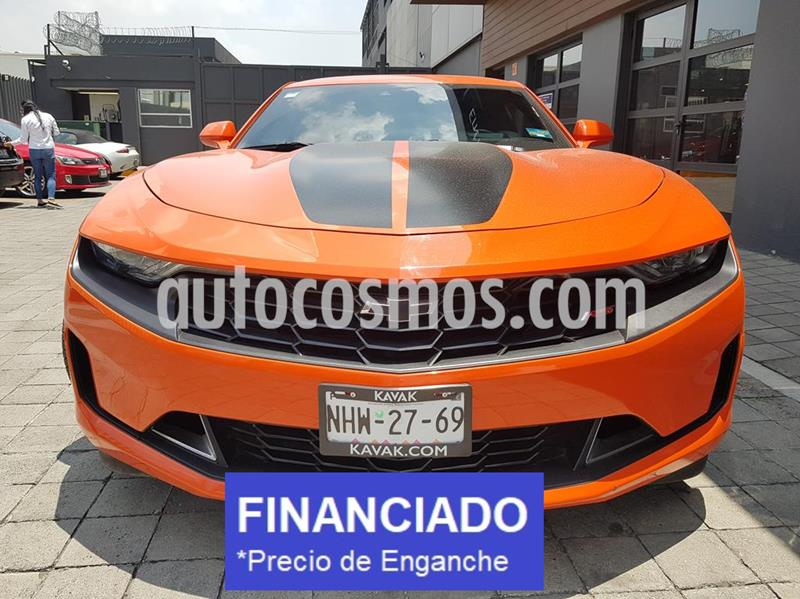 foto Chevrolet Camaro RS V6 Fire Edition Aut usado (2019) color Naranja precio $148,000