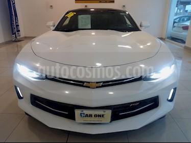 Chevrolet Camaro RS V6 Aut usado (2016) color Blanco precio $360,000