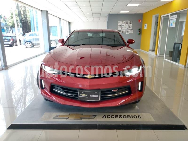 Chevrolet Camaro RS V6 Aut usado (2016) color Rojo precio $402,000