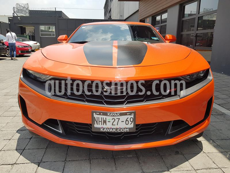 Chevrolet Camaro RS V6 Fire Edition Aut usado (2019) color Naranja precio $579,998