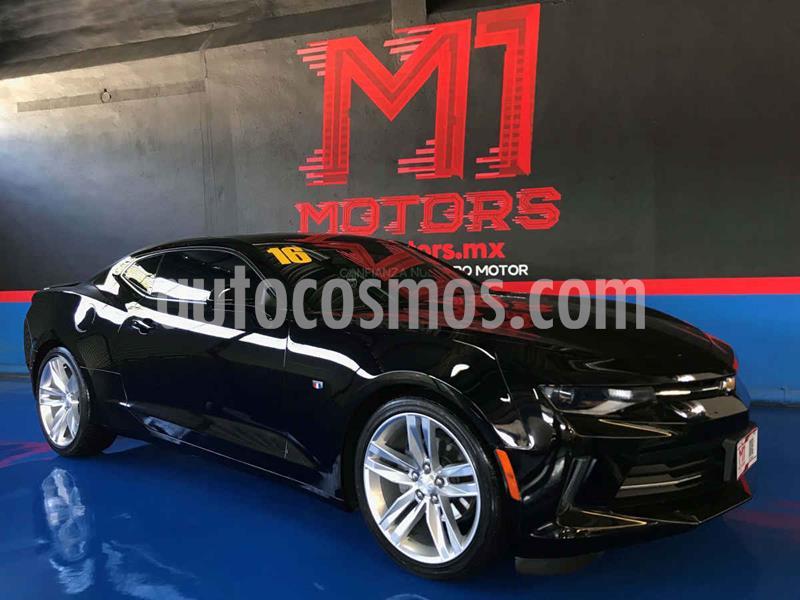 Chevrolet Camaro RS V6 Aut usado (2016) color Negro precio $378,000