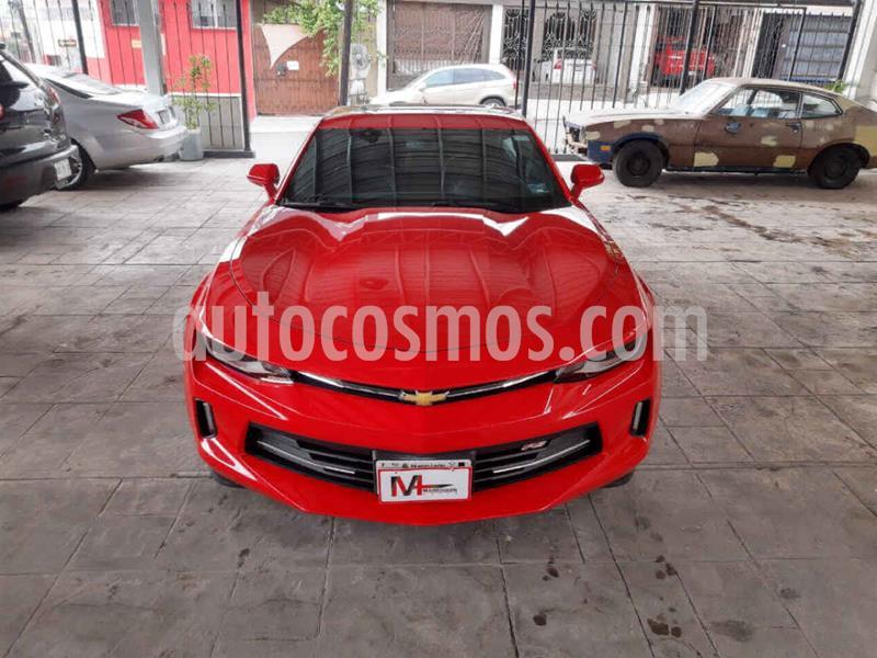 Chevrolet Camaro RS V6 Aut usado (2018) color Rojo precio $499,000