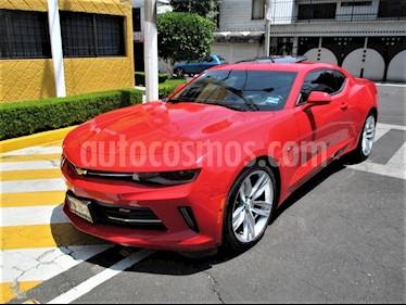 Chevrolet Camaro RS V6 Aut usado (2016) color Rojo Fuego precio $349,900