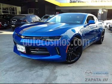 Chevrolet Camaro RS V6 Aut usado (2017) color Azul precio $420,000