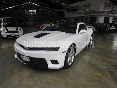 Chevrolet Camaro SS Paq. B usado (2015) color Blanco precio $460,000