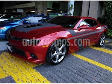 Foto venta Auto usado Chevrolet Camaro SS (2014) color Rojo precio $398,000