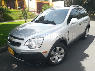 Foto venta Carro Usado Chevrolet Captiva Sport 2.4L LS Full (2011) color Plata