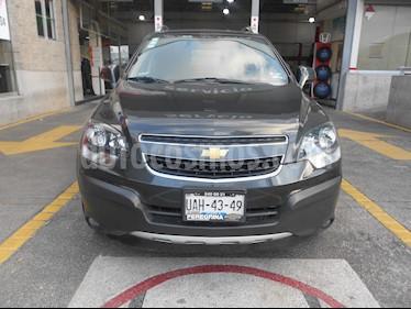 Foto venta Auto usado Chevrolet Captiva Sport 5p LS L4/2.4 Aut Piel (2015) color Gris precio $240,000