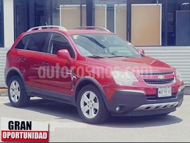 Foto venta Auto usado Chevrolet Captiva Sport 5p LS L4/2.4 Aut Piel (2014) color Rojo precio $198,000