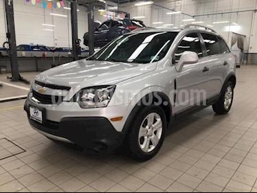 Chevrolet Captiva Sport 5p LS L4/2.4 Aut usado (2015) color Plata precio $195,000