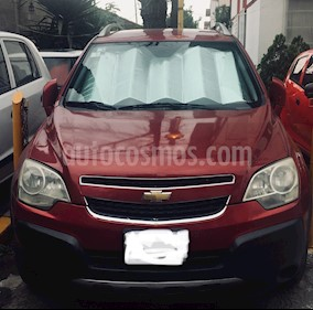 Chevrolet Captiva Sport LS usado (2011) color Rojo Tinto precio $145,000