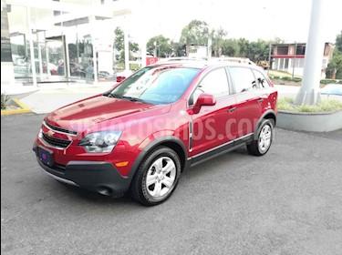 Foto venta Auto usado Chevrolet Captiva Sport LS (2015) color Rojo precio $199,000