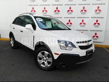 Foto venta Auto usado Chevrolet Captiva Sport LS (2015) color Blanco precio $188,000