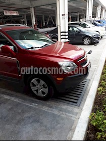 Chevrolet Captiva Sport LT Piel usado (2014) color Rojo Tinto precio $230,000