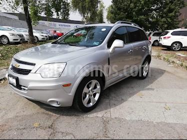 Foto venta Auto usado Chevrolet Captiva Sport LT Piel (2014) color Plata precio $209,000