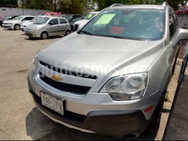 Foto venta Auto usado Chevrolet Captiva Sport LT Plus (2014) color Plata precio $170,000